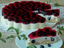 Jogurtowy deser z borówkami amerykańskimi