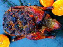 Kaczka pieczona w pomarańczowej glazurze