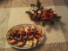 Kaczka w sosie żurawinowo - pomarańczowym