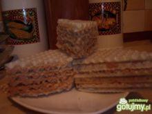 kajmakowo-czekoladowa masa do wafla
