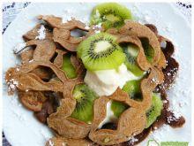 Kakaowa pajęczyna z kiwi