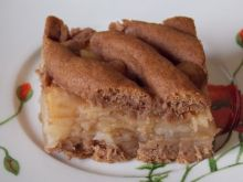 Kakaowa szarlotka mocno cynamonowa