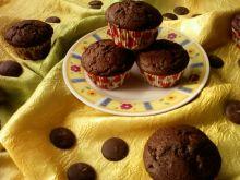 Kakaowe babeczki z czekoladą