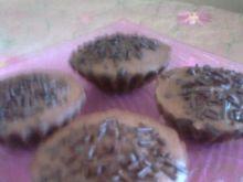 Kakaowe babeczki z płatkami czekolady