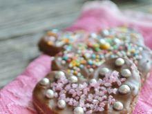 Kakaowe ciasteczka w polewie czekoladowej