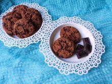 Kakaowe ciasteczka z czekoladą