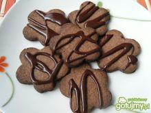 Kakaowe ciasteczka z imbirową nutką