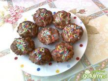 Kakaowe ciasteczka z jabłkami