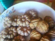 Kakaowe ciasteczka z maszynki