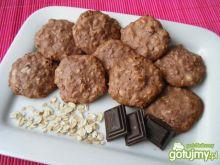 Kakaowe ciasteczka z płatków owsianych
