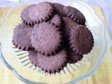 Kakaowe ciasteczka z wiórkami kokosowymi