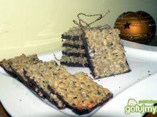 Kakaowe ciasteczka ze słonecznikiem