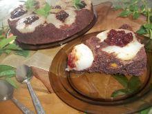 Kakaowe ciasto z dynią i gruszkami