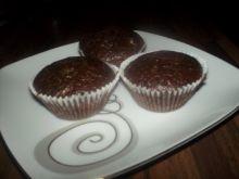 Kakaowe muffinki z kawałkami czekolady