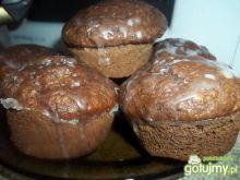 Kakaowe muffinki z kokosem