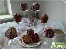 Kakaowe muffinki z mandarynką