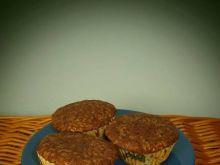 Kakaowe muffinki ze śmietankowym budyniem