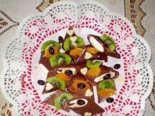 Kakaowe naleśniki z serem i owocami :