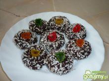 Kakaowe trufle z herbatników