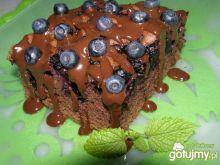 Kakaowiec z jagodami