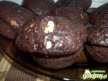 Kakaowo-bananowe muffinki