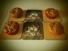 Kakaowo-jabłkowe muffinki z cynamonem
