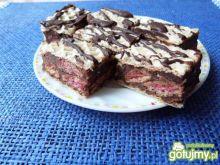 Kakaowy blok z jogurtowymi poduszkami