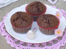 Kakaowe muffinki z makiem i kokosem