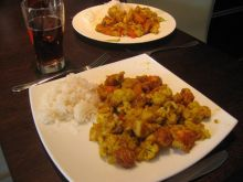 Kalafior curry