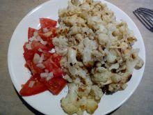 Kalafior smażony z wędzonym serem