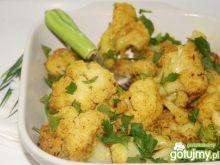 Kalafior w maślanym sosie curry
