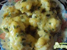 Kalafior w sosie pietruszkowym