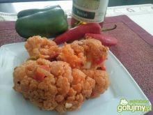 Kalafior w sosie pomidorowo-winnym