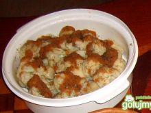 Kalafior z cukrem i curry