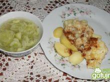 Kalafior z młodymi ziemniaczkami