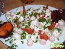 Kalafior z pomidorami