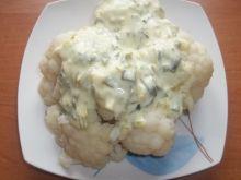 Kalafior z sosem porowo - serpwym