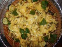 Kalafior zapiekany z cukinią i serem