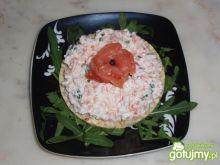Kanapeczki z pastą łososiową