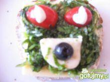 kanapka śniadaniowa dla niejadka