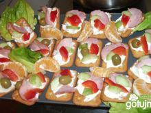 Kanapki na krakersach