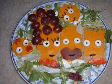 Kanapki Simpsonowie, czyli witaj wiosno na wesoło