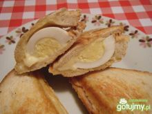 Kanapki tostowe z jajkami