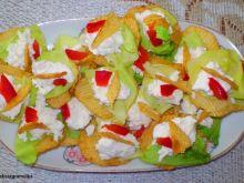 Kanapki z Fetą na chipsach :