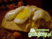 kanapki z jajkiem i pasztetem