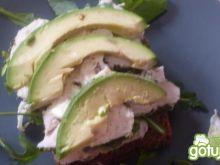 Kanapki z kurczakiem i avocado