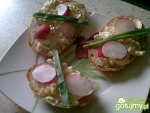 Kanapki z pastą jajeczną