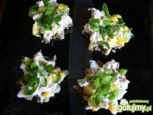 Kanapki z pastą tuńczykowo- jajeczną