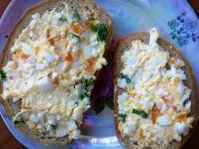 Kanapkowa pasta jajeczno- marchwiowa
