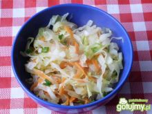 Kapusta biała duszona z warzywami